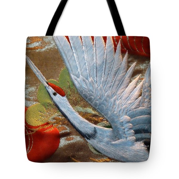 Taking Flight Tote Bag by Newel Hunter