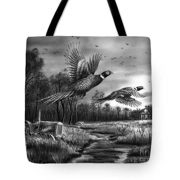 Taking Flight  Tote Bag by Peter Piatt