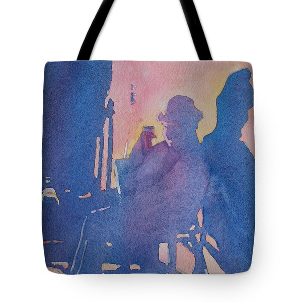 Taking Ten With My Shadow Tote Bag by Jenny Armitage