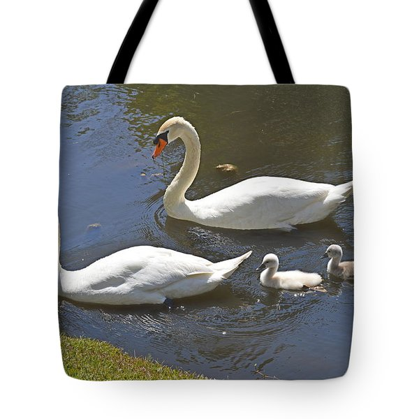 Tote Bag featuring the photograph Taking The Kids Out by Judith Morris