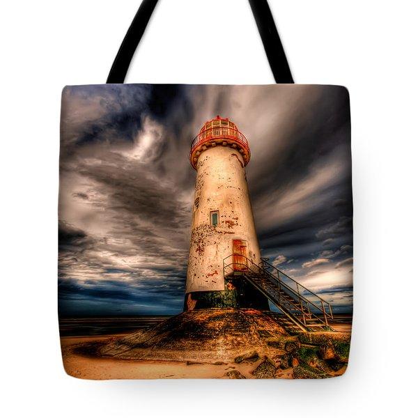 Talacre Lighthouse Tote Bag