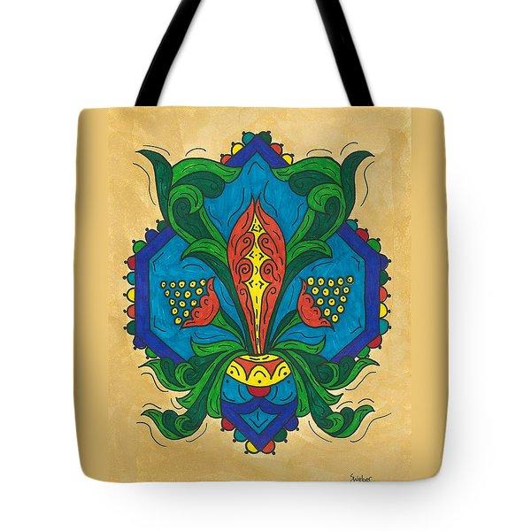 Talavera Flora Tote Bag by Susie WEBER