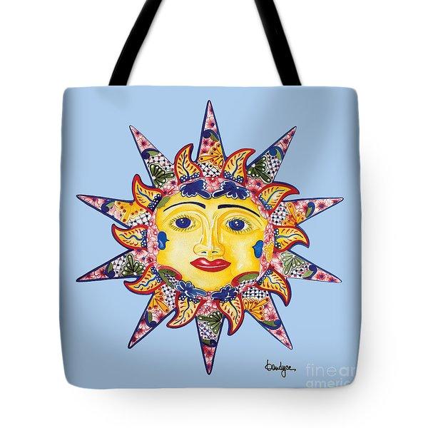 Talavera Sun-blue Tote Bag