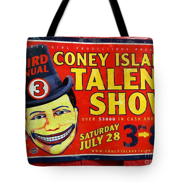 Talent Show Tote Bag by Ed Weidman