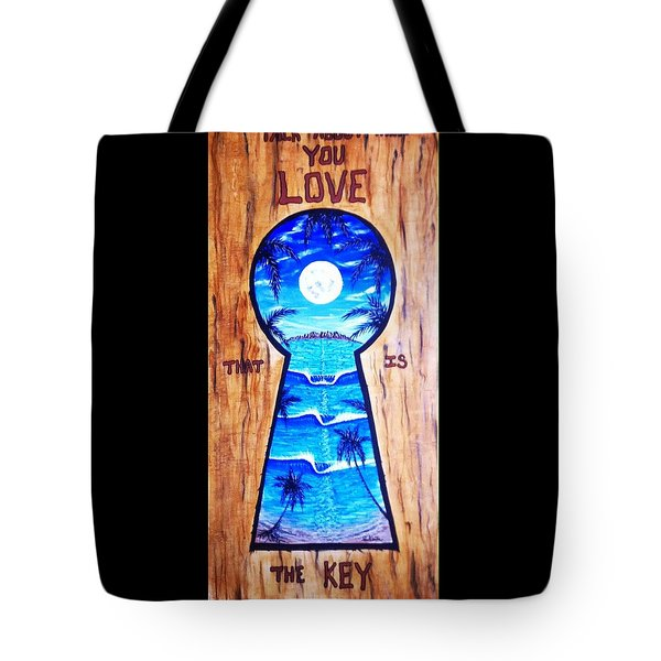 Talk About Love Tote Bag