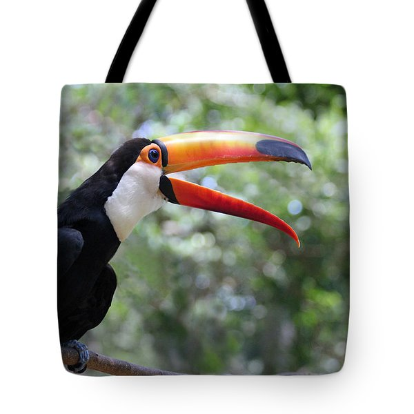 Talkative Toucan Tote Bag