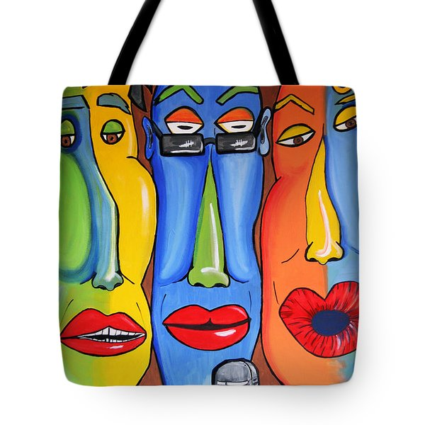 Talking Heads Tote Bag