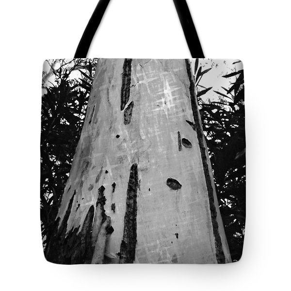 Tote Bag featuring the photograph Tall by Clare Bevan