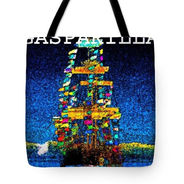 Tall Ship Jose Gasparilla Tote Bag
