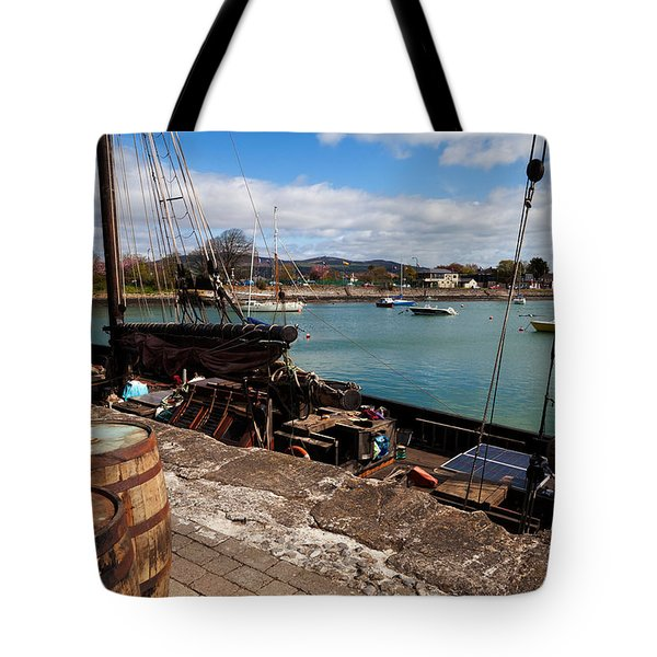 Tall Ship Keeywaydin , Dungarvan Tote Bag