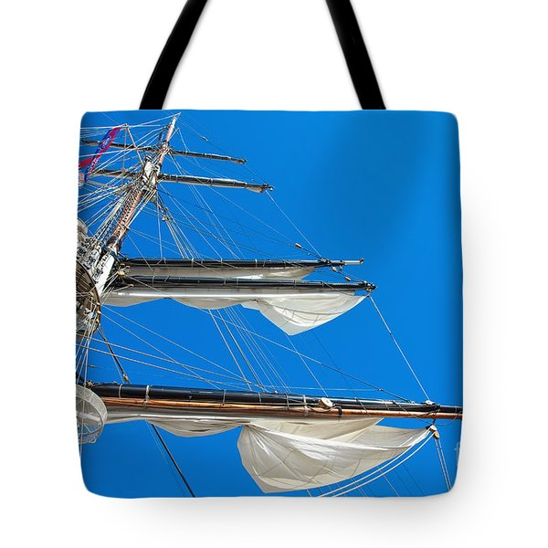 Tall Ship Yards Tote Bag