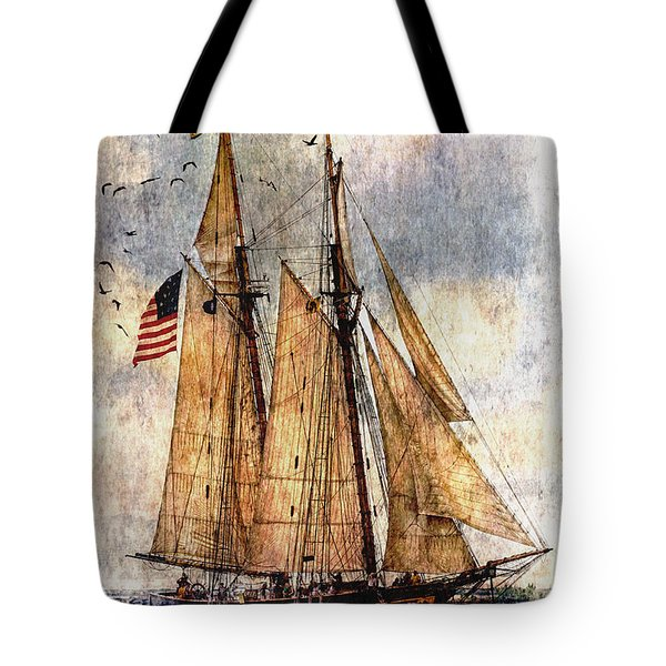 Tall Ships Art Tote Bag
