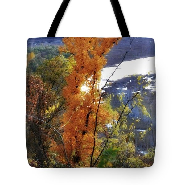 Tall Yellow Tree Tote Bag by Marty Koch