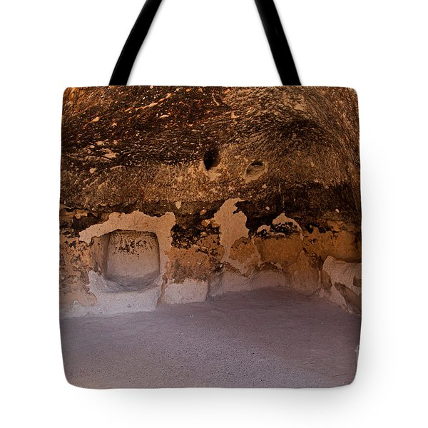 Talus Housefront Room Bandelier National Monument Tote Bag