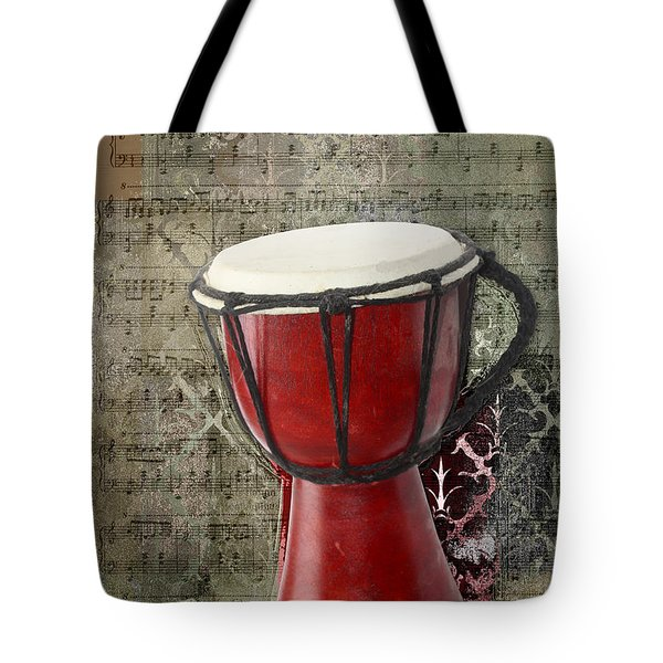Tam Tam Djembe - S02a Tote Bag by Variance Collections