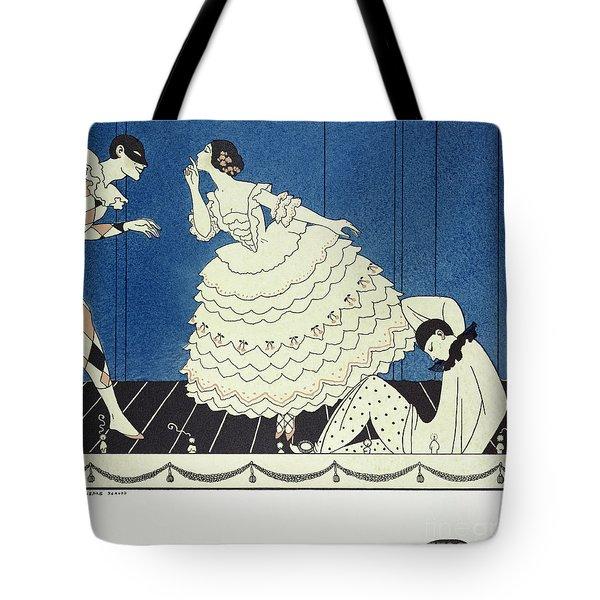 Tamara Karsavinaas Columbine Tote Bag by Georges Barbier