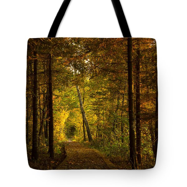 Tamarac Boardwalk Tote Bag