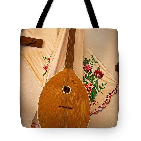 Tamburica Croatian Traditional Music Instrument Tote Bag