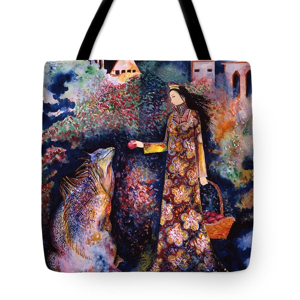 Taming Of The Dragon Tote Bag