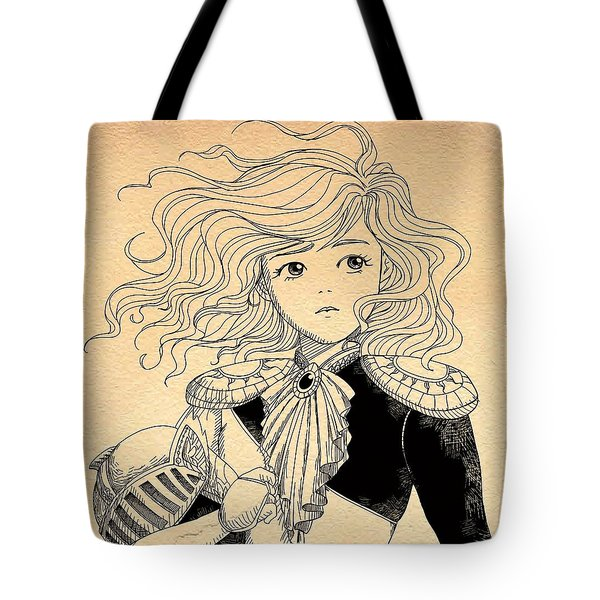 General Tammy Wurtherington Portrait Tote Bag
