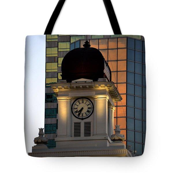 Tampa City Hall 1915 Tote Bag by David Lee Thompson