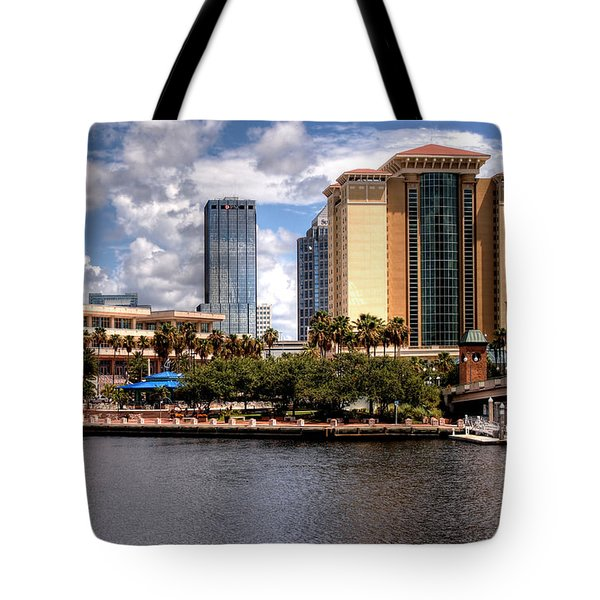 Tote Bag featuring the photograph Tampa by Jim Hill
