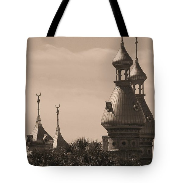 Tampa Minarets  Tote Bag by Carol Groenen