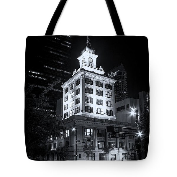 Tampa's Old City Hall Tote Bag