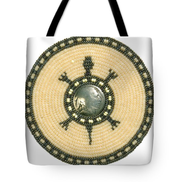 Tan Indian Turtle Tote Bag