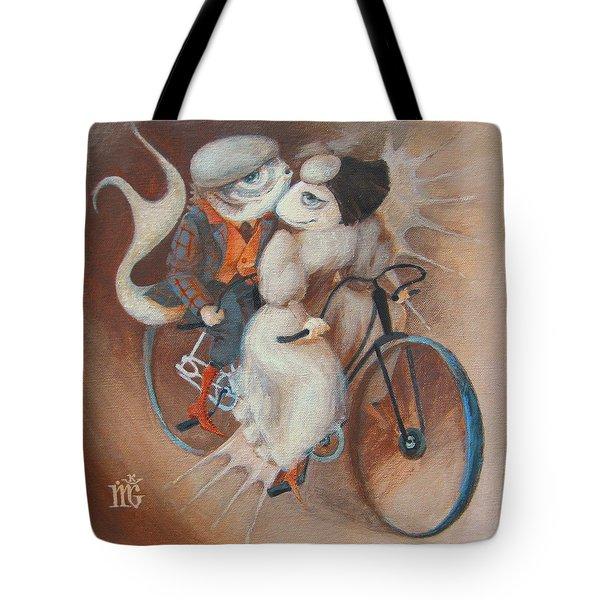 Tandem Tote Bag by Marina Gnetetsky