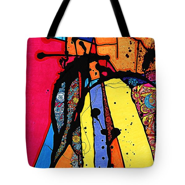 Tandem Of Spirituality Tote Bag