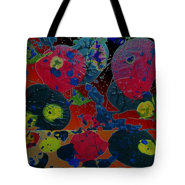 Tote Bag featuring the painting Tangent by Jacqueline McReynolds