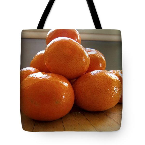 Tote Bag featuring the photograph Tangerined by Joe Schofield