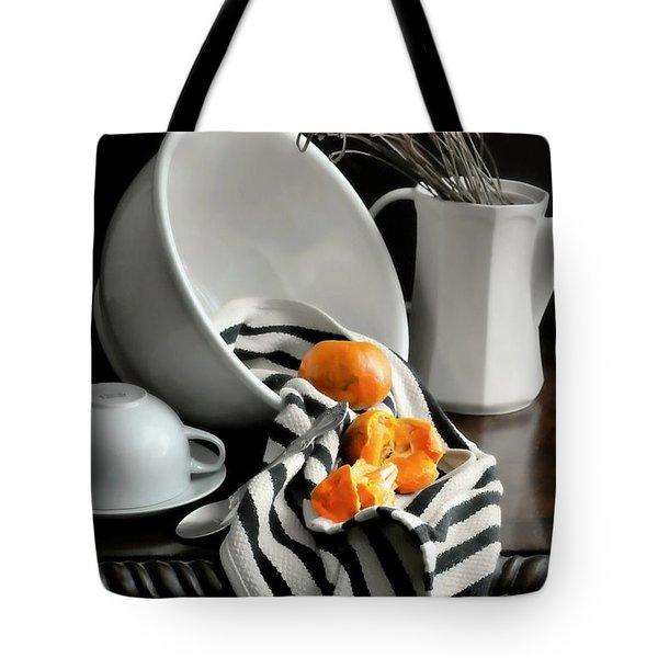 Tangerines Tote Bag by Diana Angstadt