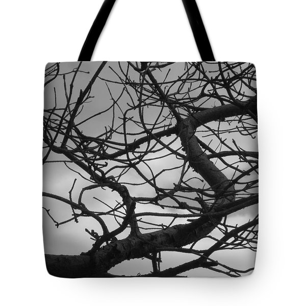 Tangled By The Wind Tote Bag