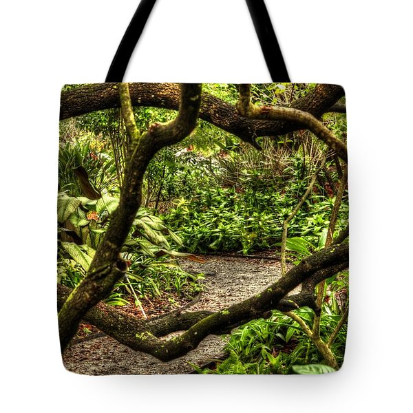 Tangled Path Tote Bag