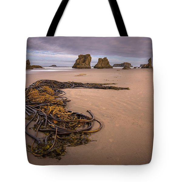 Tangled.... Bandon Oregon Tote Bag by Tim Bryan