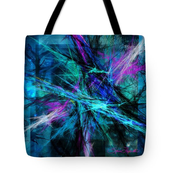 Tangled Web Tote Bag by Sylvia Thornton