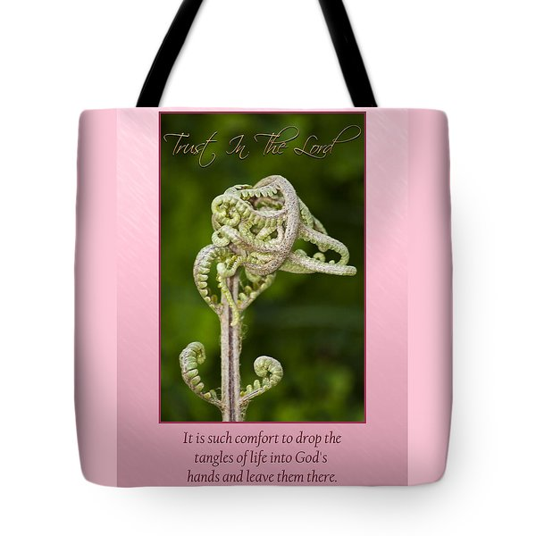 Tangles Tote Bag by Carolyn Marshall