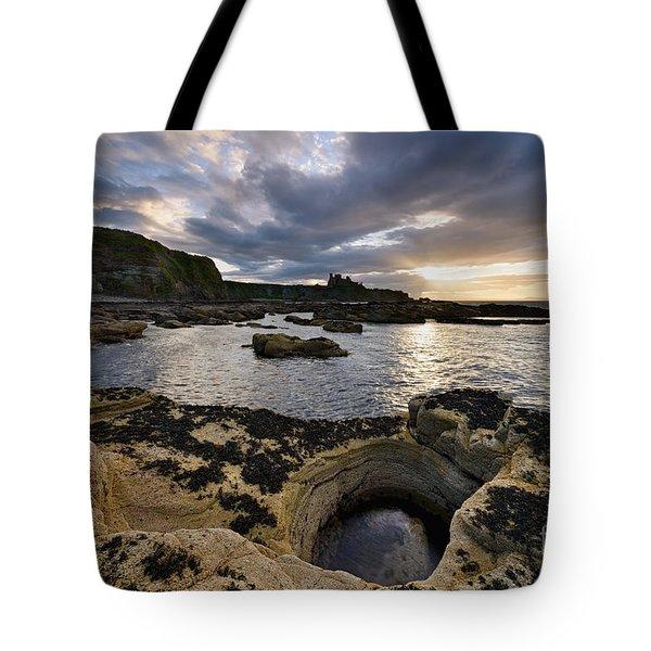 Tantallon Castle Tote Bag