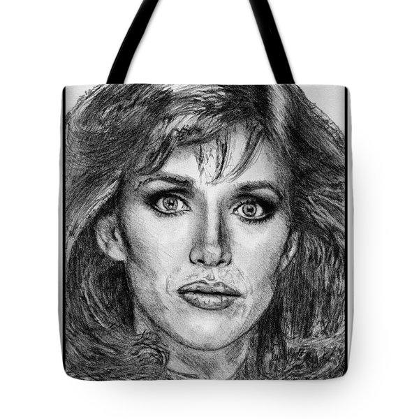 Tanya Roberts In 1981 Tote Bag by J McCombie