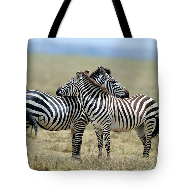 Tanzania Serenget National Park Tote Bag