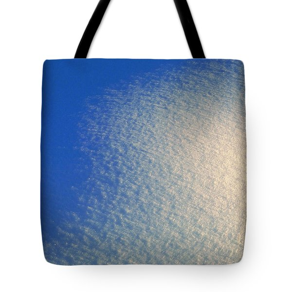 Tote Bag featuring the photograph Tao Of Snow by Mark Greenberg