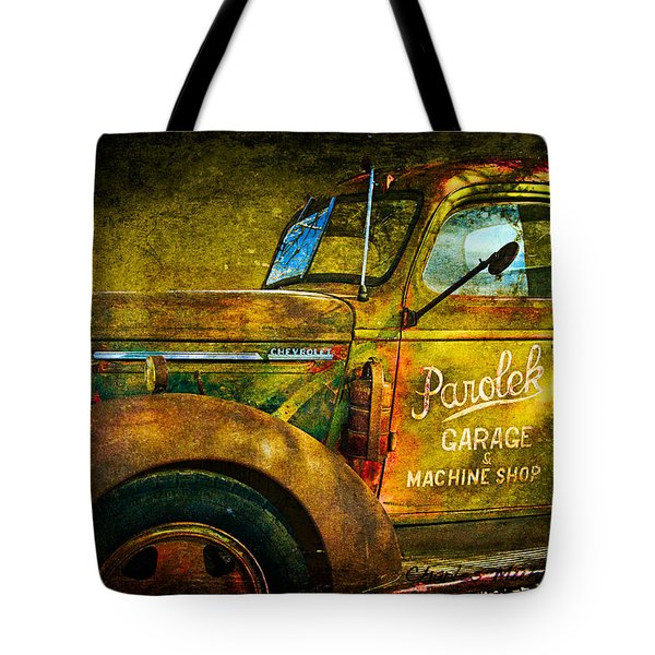 Taos Chevy II Tote Bag