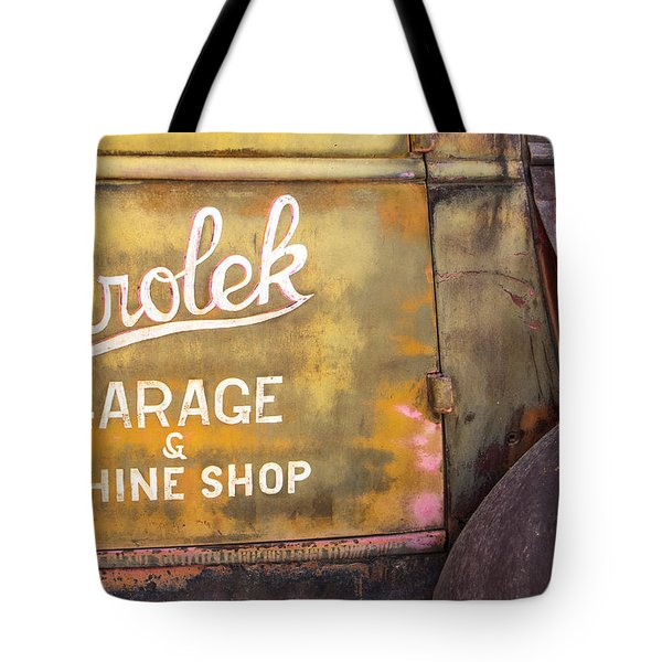 Tote Bag featuring the photograph Taos Chevy by Steven Bateson