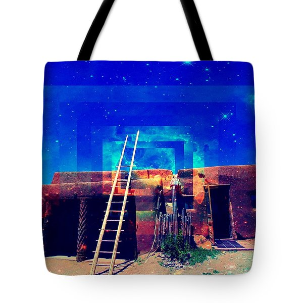 Taos Dreams Come True Tote Bag
