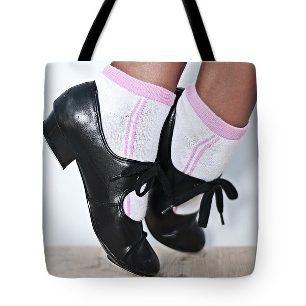 Tap Dance Shoes From Dance Academy - Tap Point Tap Tote Bag
