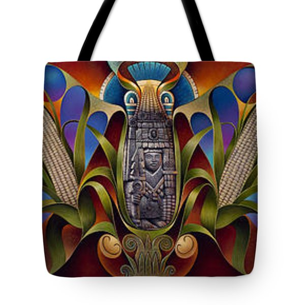 Tapestry Of Gods Tote Bag