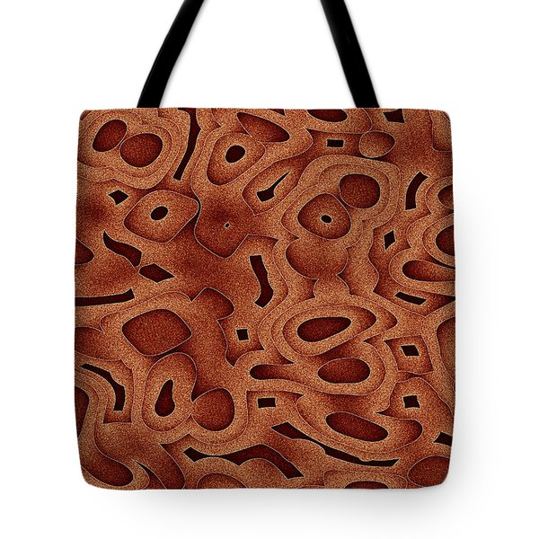 Tote Bag featuring the digital art Tapma by Jeff Iverson