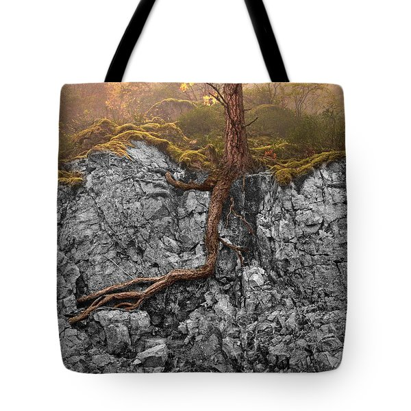 Taproot Tote Bag by Mary Jo Allen